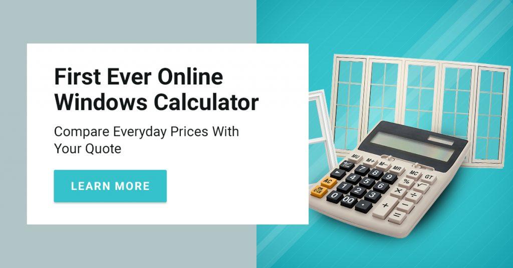 online windows pricing calculator